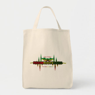 Riddim Roots Radio Grocery Tote/Shopping Bag