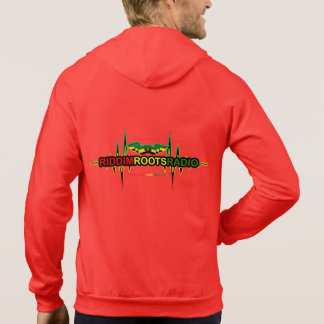 Riddim Roots Radio Men's Fleece Zip Hoodie