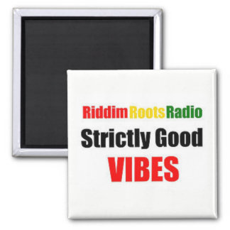 Riddim Roots Radio Strictly Good Vibes Magnet