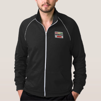 Riddim Roots Radio Strictly Good Vibes Mens Jacket