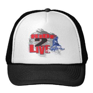 Ride 2 Live Trucker Hat