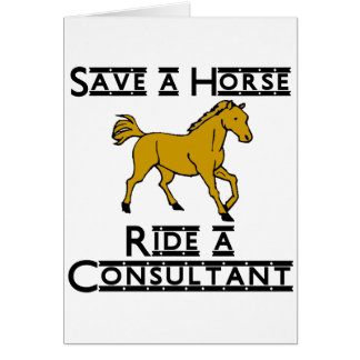 ride a consultant note card