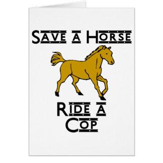 ride a cop card