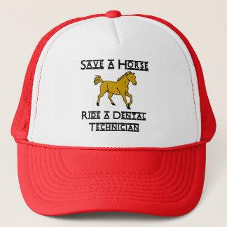ride a dental technician trucker hat