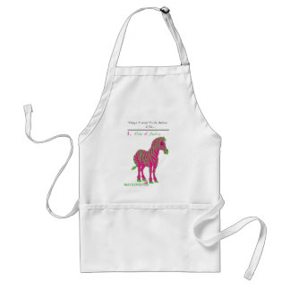 """RIDE A ZEBRA"" Apron (MaryJLovesYou EXCLUSIVE)"