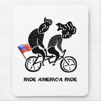Ride America Ride Mouse Pad