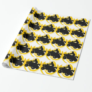 Ride and Grind Wrapping Paper