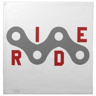 Ride (Chain) Napkin