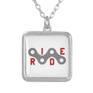 Ride (Chain) Silver Plated Necklace