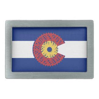 Ride Colorado (Bicycle Cassette) Belt Buckles