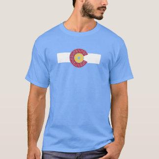 Ride Colorado (Bicycle Cassette) T-Shirt