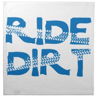 Ride Dirt Napkin