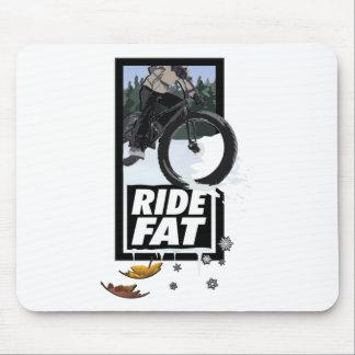 RIDE FAT - A Fatbike Design Mouse Pad