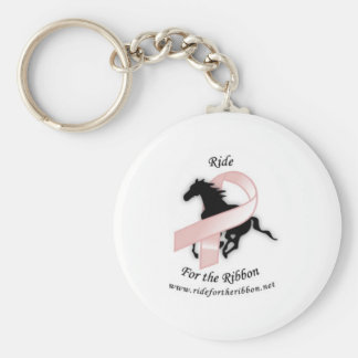 ride for the ribbon keychain