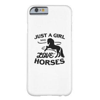 Ride Horse Lovers Gifts Riding Who Loves Horses Barely There iPhone 6 Case