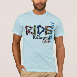 Ride Killington Vermont elevation snowboard tee