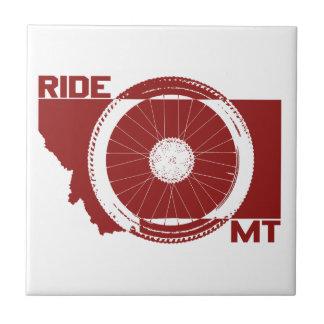 Ride Montana Ceramic Tile