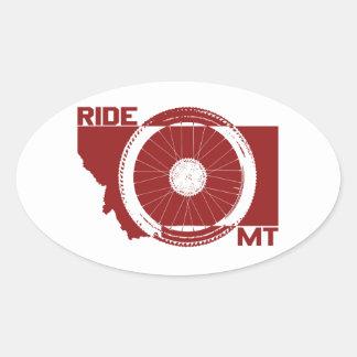 Ride Montana Oval Sticker