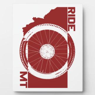 Ride Montana Plaque