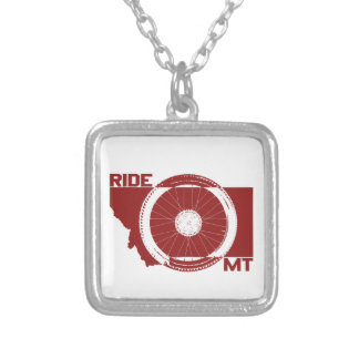 Ride Montana Silver Plated Necklace