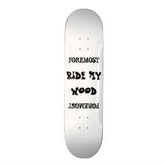 Ride my Foremost Wood Skate Board Decks