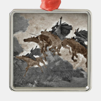 Ride of the Valkyries Metal Ornament