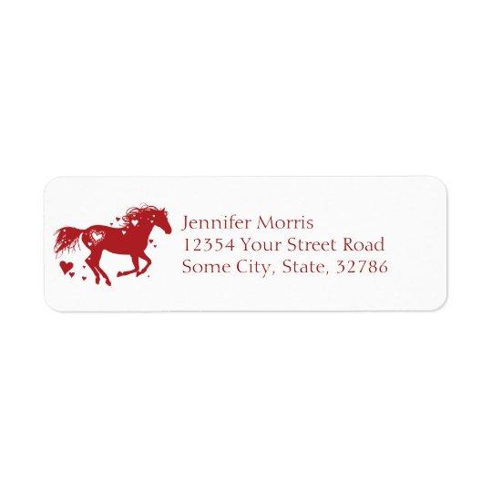 Ride Often Return Address Label