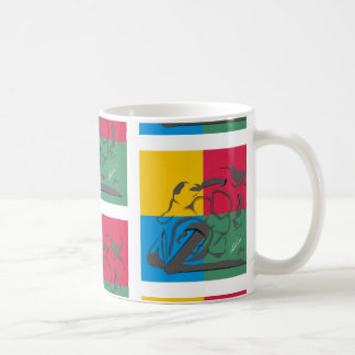 Ride on coffee mug