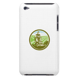 Ride On Lawn Mower Vintage Retro Barely There iPod Cases