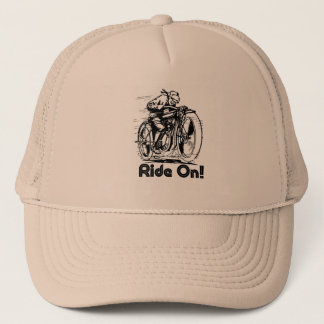 ride on trucker hat