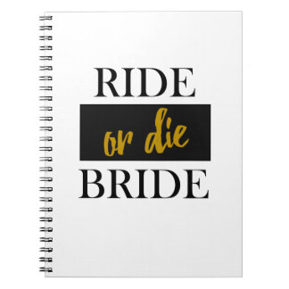 Ride or Die Bride Wedding Planning Book