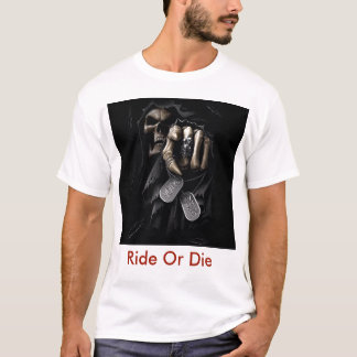 Ride Or Die Grim Reaper T-Shirt