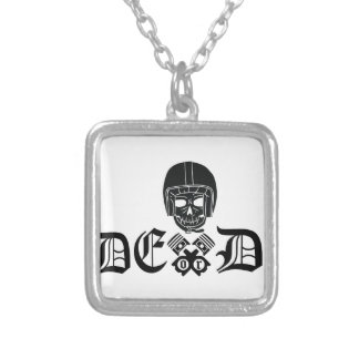 Ride Or Die Silver Plated Necklace