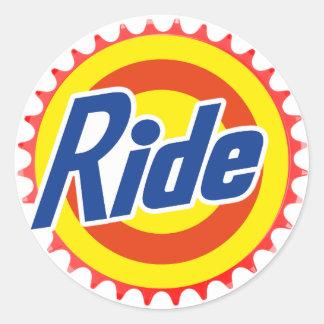 Ride (Parody) Round Sticker