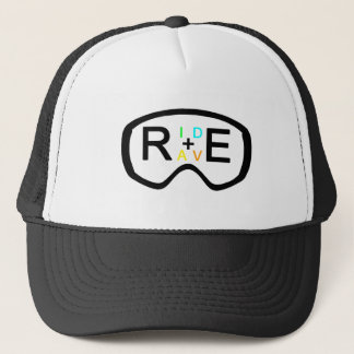RIDE+RAVE GOGGLES TRUCKER HAT