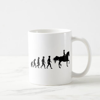 Ride riders horses show jumper riding stud coffee mug