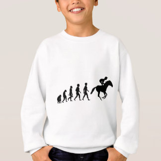 Ride riders horses show jumper riding stud sweatshirt