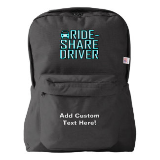 Ride Share Driver Rideshare Driving Backpack