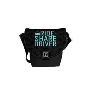 Ride Share Driver Rideshare Driving Messenger Bags