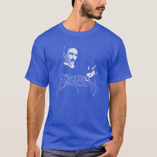 Ride The Lightning Nikola Tesla T-Shirt