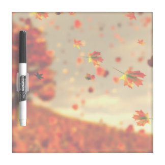 Ride the October Breeze Dry Erase Board