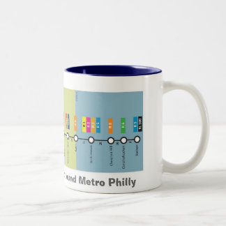Ride the R0 the loop around Metro Philly mug