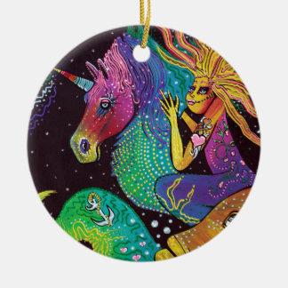 Ride The Rainbow Ornament