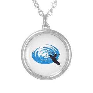 Ride the Rapids Silver Plated Necklace