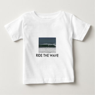 RIDE THE WAVE KIDS WEAR BY WASTELANDMUSIC.COM SHIRTS