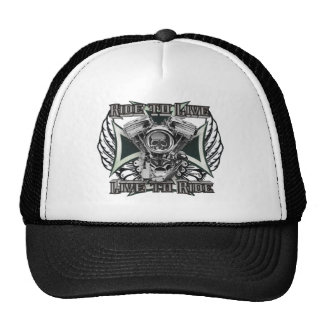 Ride to Live - Live to Ride Mesh Hats
