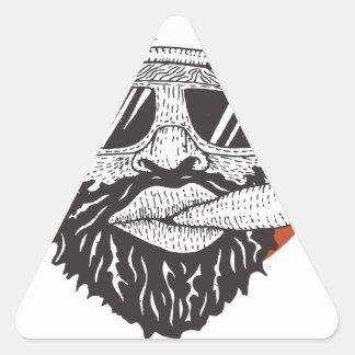 Ride To Live Triangle Sticker