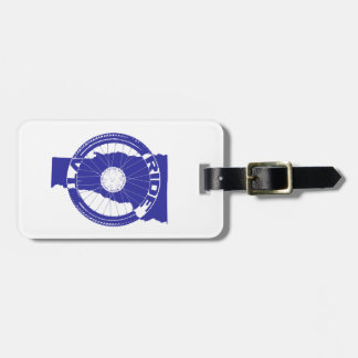 Ride Vermont Luggage Tag