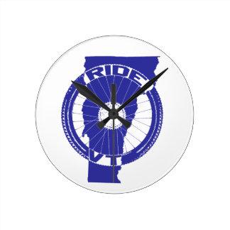 Ride Vermont Round Clock