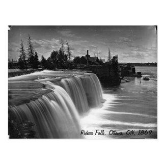Rideau Falls, Ottawa, ON, 1869 Postcard